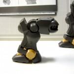 ガンプラHG「グリモア」 脚 膝の可動